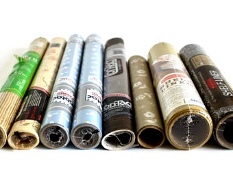 Contact Paper Shelf Liner Adhesive Plastic Rubbermaid, Con Tact, Kwik Kover, Harvest Gold, Floral Brown; Fabtac Blue Goose Adhesive Fabric