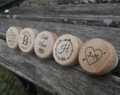 Custom Wine Bottle Stopper. CHOOSE YOUR DESIGN. Laser Engraved. Wedding, Favor, Gift. Custom Orders Welcome.