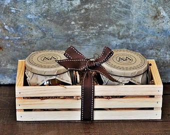 Jams Duo Set - Balsamic Jams Set - Crate Gift Set - Food Gift Set