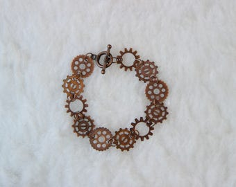 Clockwork Gears Bracelet