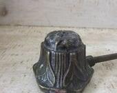 Beautiful art nouveau candle snuffer brass antique
