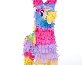 Pinata Clipart, Photo of Pinata on White Background, Downloadable Image, Blue, Pink, Yellow, Purple, Childrens Clipart, Clipart Invitations