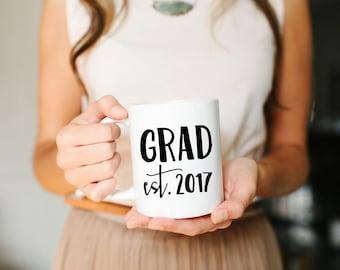 Grad Mug, Grad Gifts, Graduation Gifts, Graduation gift Ideas, 2017 Grad, Graduation Mug, Graduation Gift for Her, Graduation Gift for Him