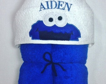 cookie monster birthday baby shower sesame street personalized