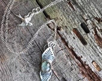 Victorian Pendant - Sapphire
