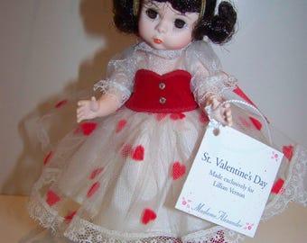 St Valentines Day madame alexander 8 in doll Lillian Vernon