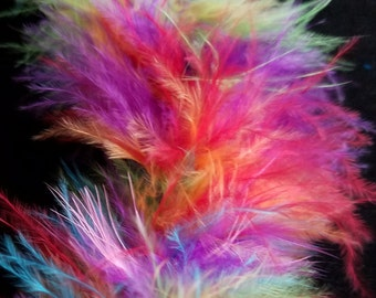 Feathers, embellishments - boa, Multi Colors