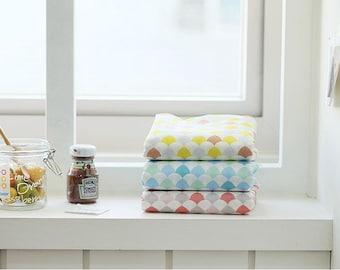 Geometric Fabric, Cotton Blend Fabric - By the Yard 97083