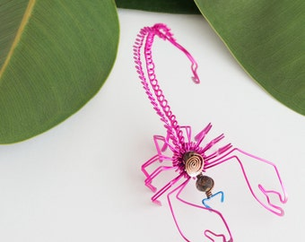 wire art sculpture · scorpion sculpture · wire scorpion · decorative scorpion · scorpion decorative art · kids room decor · wire craft