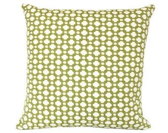 Schumacher Chartreuse Betwixt Pillow Cover