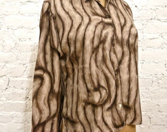 50s Rare Early Emilio Pucci Silk Blouse