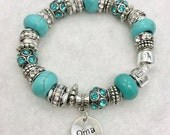Oma European Style Charm Bracelet