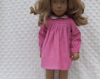 """Ready to Ship - Babycord Dress and Pants Outfit for 16"""" or 17"""" Sasha doll"""