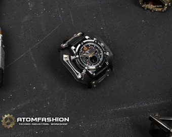 Terminator man techno-industrial watch