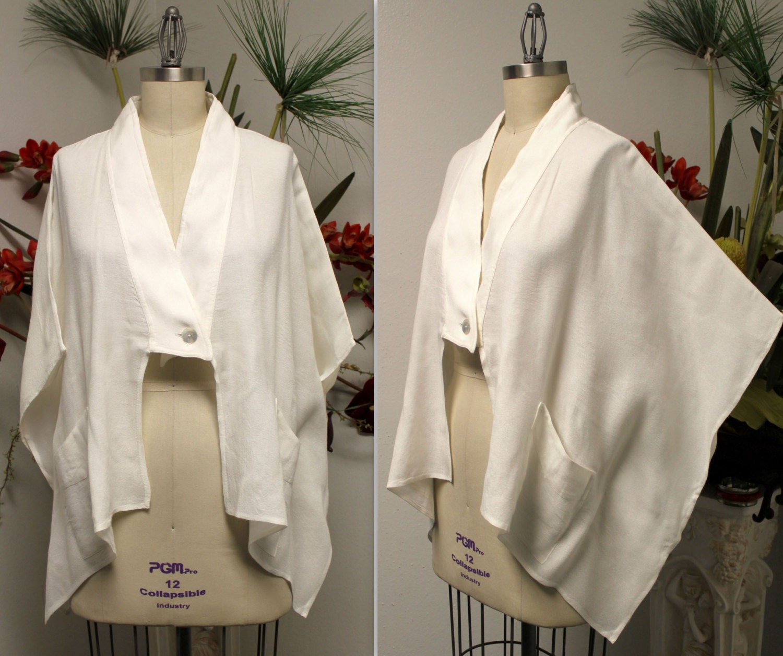 Designer oversize bolero jacket swing jacket poncho style for Designer bolero