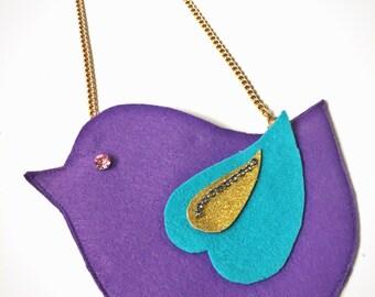 LilTUCK Bird Animal Purse - Kids Girls Cute Jeweled Designer Luxe Handbag Purse.. Cute gift idea! by Tuckbrand