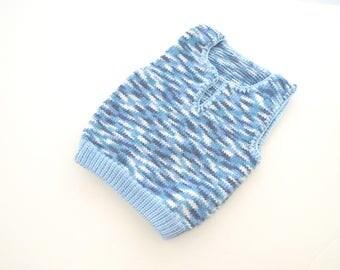 Blue baby knits, Toddler boy clothing, Baby boy knit vest, Baby boy shower gift, Baby boy clothes, Knitted baby clothes, Baby wool vest