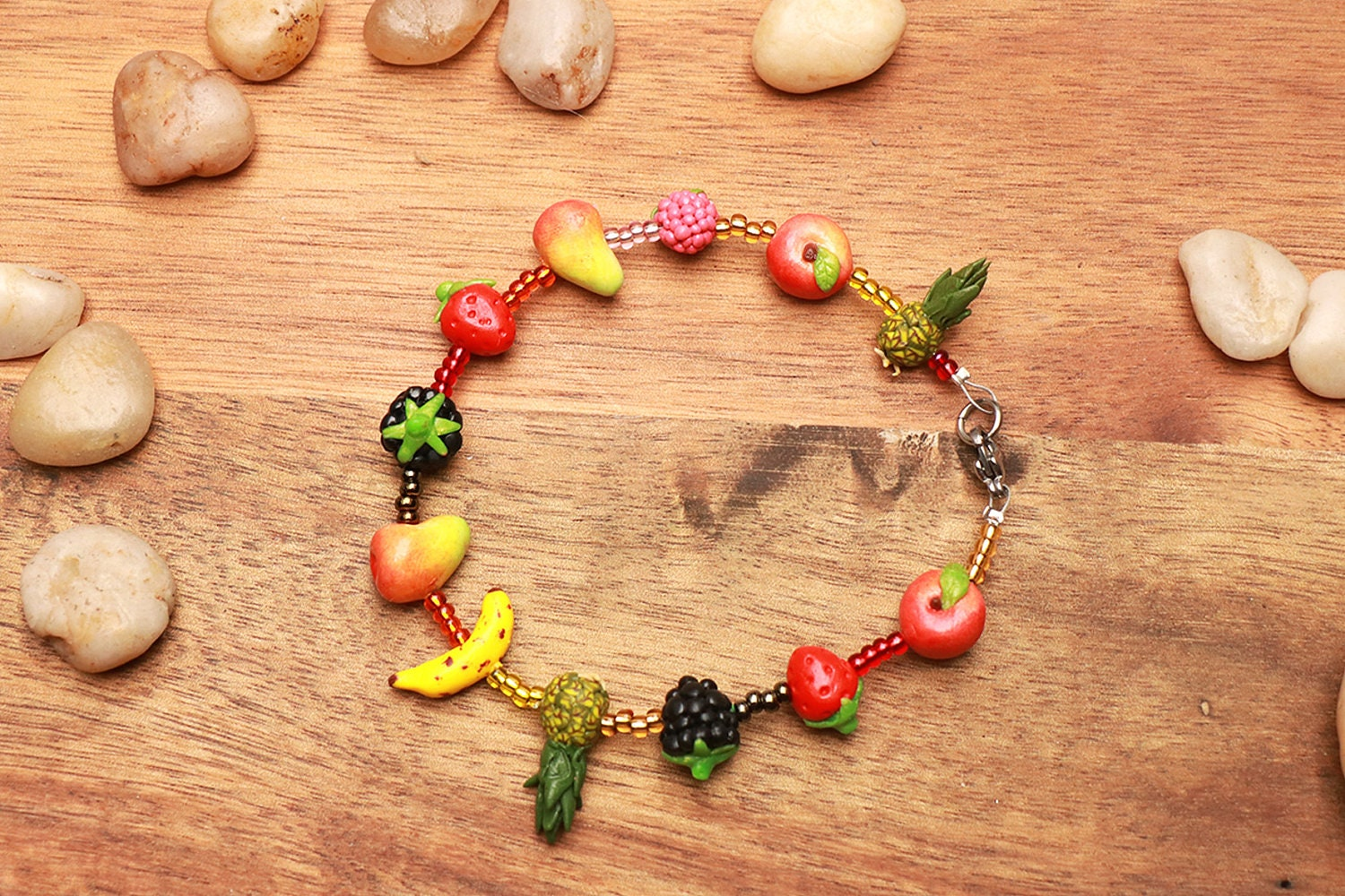 fruit jewelry colorful fruit bracelet fruit jewelry fruit 9787