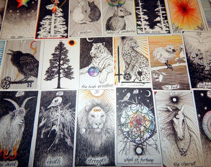 5 CARD Q & A Tarot Card Reading using WILD UNKNOWN Tarot