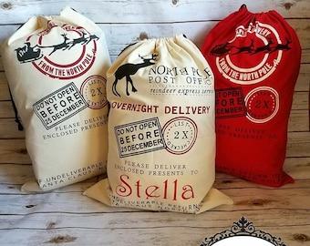 Santa sack | Santa sack | Santa bag | Burlap bag | Christmas bag | Santa gift bag | Bag | Santa sacks