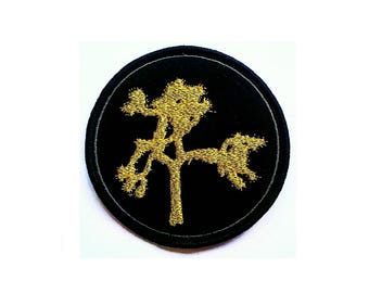 U2 ~ The Joshua Tree ~ Limited Edition Gold/Black Embroidered Patch ~ 10cm