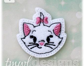 """Kitty Head Feltie Digital Design File - 1.75"""""""