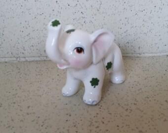Lefton Elephant Figurine