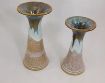 Opal Candlesticks