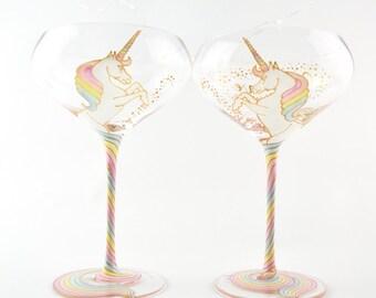 Unicorn Champagne Saucer