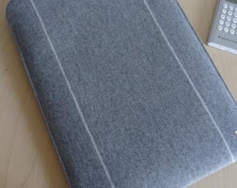 Laptop Sleeves Grey Wool