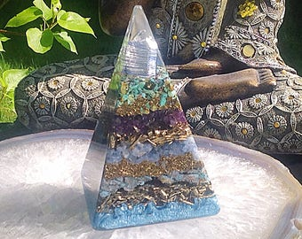 Powerful Orgone Pyramid - Calmness - FREE WORLDWIDE SHIPPING!