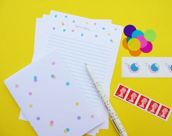 Snail Mail Letter Writing Set (with or without stamps!)