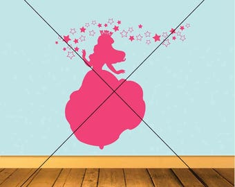 Princess Vector Images SVG Files Digital Cutting Files  Ai - Eps - PNG - DXF - Svg