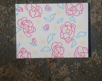 Screen Print Post Card