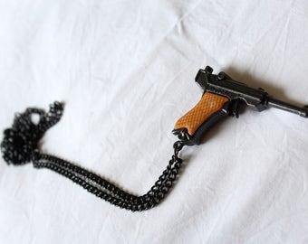 """Necklace """"Toy gun"""""""