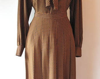 70s-80s Dior Blouse and Skirt Set
