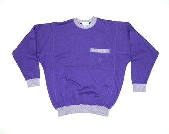 Vintage Purple Sweatshirt