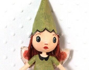 "Mini doll fairy of the Woods ""Ladybird"""