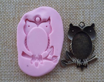 Cameo resin mold silicone rubber for OWL