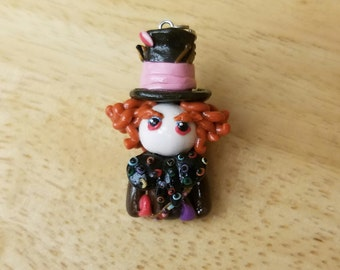 Mad Hatter clay figure