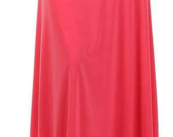 Coral Long Maxi Skirt Women's