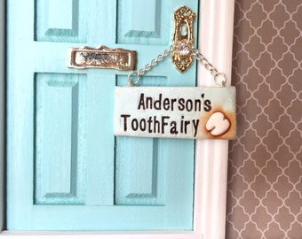 Tooth Fairy Sign for Fairy Door Tooth Fairy Door Magical Fairy Door Fairy & Tooth fairy door | Etsy pezcame.com
