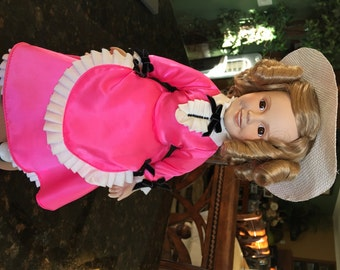 Shirley Temple Dolls of the Silver Screen: Hot Pink Dress