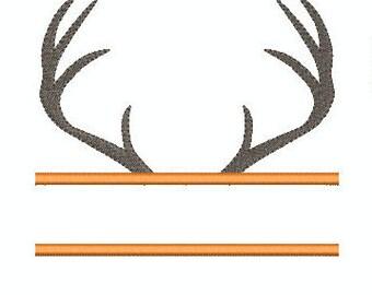 Deer Antler Name Frame - 9 Sizes!