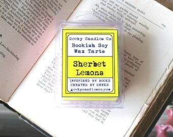 Sherbet Lemons Wax Tart. ,  Soy Candles UK, Wax Tarts, Soy Melts, Scented Tarts, Soy Tarts,Tarts, Wax Melts