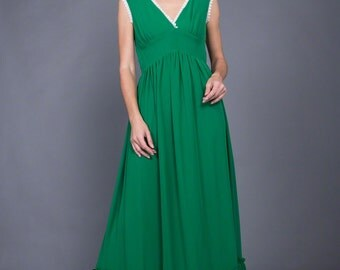 Martini hippie chic maxi dress