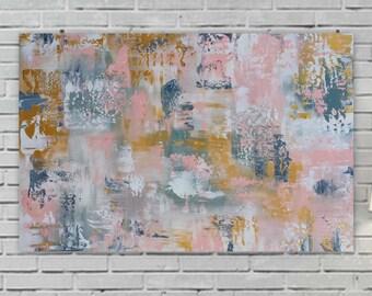 Huge abstract schilderijen van marcy chapman van mecart op etsy - Moderne schilderij volwassen kamer ...