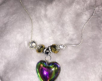 Heart Jewel Necklace