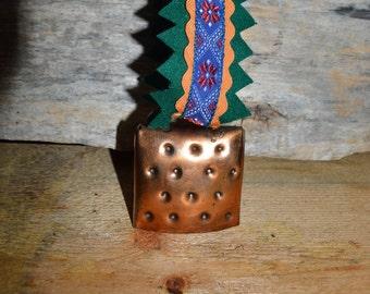 Reindeer Bell. Souvenir bell from Lapland. Christmas Bell. Santa's bell. Saami souvenir.