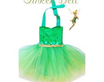 Tinker Bell Inspired Romper